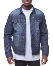 Denim Jackets - Denim Jacket Waistband Trim