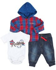 Boys - Brooklyn 3 Piece Set (Infant 0-9 mo)