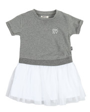 Girls - Popover Tulle Dress (4-6X)