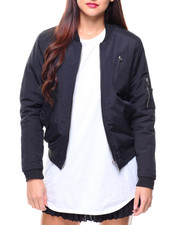 Fashion Lab - Padded Bomber Jacket