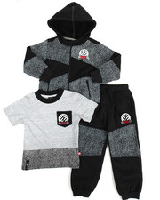 Boys - 3 Piece Jogger Set (4-7)