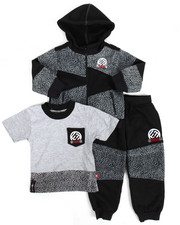 Sets - 3 Piece Jogger Set (2T-4T)