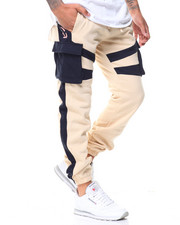 Pink Dolphin - PROMO BLOCK SWEATPANTS