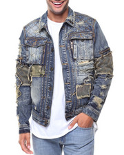 Denim Jackets - Denim Patches Jacket