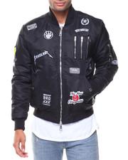 Men - Zipper Aviator Jacket