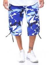 Buyers Picks - Camo Belted Cargo Shorts