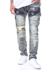 Jeans - Patched Jeans