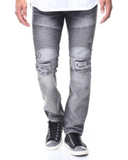 Jeans & Pants - Biker Moto Jeans