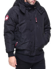 The Classic Bomber Jacket - Canada Weather Gear Bomber Parker w Hood