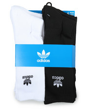 Adidas - Originals Trefoil 6Pk Crew Socks