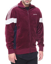 Adidas - Velour Track Top