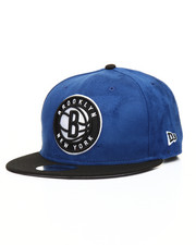 NBA, MLB, NFL Gear - 9Fifty Brooklyn Nets Suede Snapback
