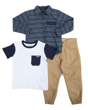 Boys - Unplug 3 Piece Set (4-7)