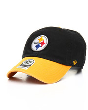 NBA, MLB, NFL Gear - Pittsburgh Steelers Two Tone Clean Up 47 Dad Hat