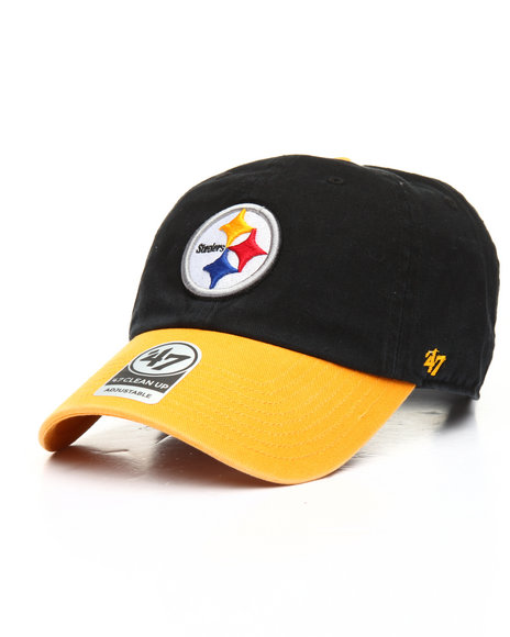 '47 - Pittsburgh Steelers Two Tone Clean Up 47 Dad Hat