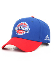 NBA, MLB, NFL Gear - Detroit Pistons Adidas NBA Courtside Snapback Cap