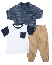 Boys - Unplug 3 Piece Set (2T-4T)