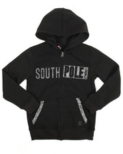 Boys - L/S Full Zip Fleece Hoodie (8-20)