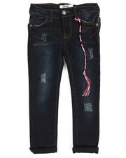 Bottoms - Olivia Skinny Denim Cropped Jeans (4-6X)