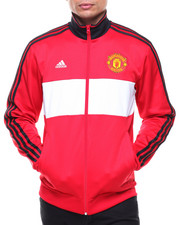Track Jackets - Manchester United 3 Stripes Track Top