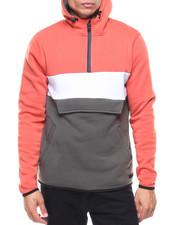 Men - Fleece Color Block Anorak