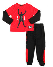 Boys - 2-Fer Tee & Pant Long Set (4-7)