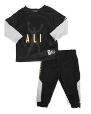 Sets - 2 Fer Tee & Pant Long Set (12M-24M)
