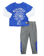 Sets - 2-Fer Tee & Pant Long Set (2T-4T)