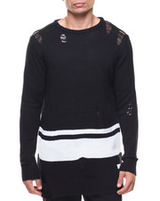 Buyers Picks - Stripe Ripped Sweater-2144254