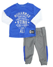 Sets - 2-Fer Tee & Pant Long Set (12M-24M)