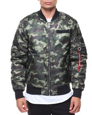 Light Jackets - MA1 Bomber Jacket-2144176