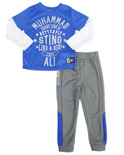 Sets - 2-Fer Tee & Pant Long Set (4-7)