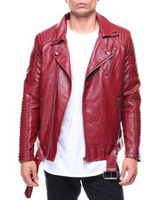 Fall-2017-Mens - Vegan Leather Moto Jacket-2144325