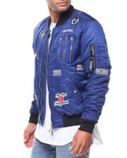 Light Jackets - Zipper Aviator Jacket