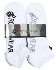 Rocawear - 6 Pack No Show Half Cushioned Socks