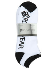Rocawear - 3 Pack No Show Half Cushioned Socks