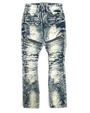 Sizes 8-20 - Big Kids - Moto Zipper Jean (8-20)