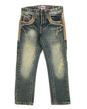 Jeans - 33 Thick Stitch Jeans (4-7)