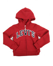 Girls - L/S Iconic Hoodie (4-6X)