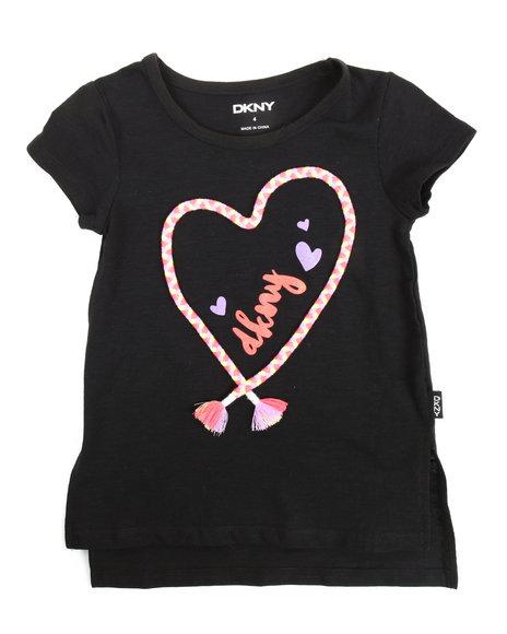 DKNY Jeans - Heart Rope Tee (4-6X)