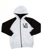 LRG - Research Collection Two Zip Hoodie (8-20)