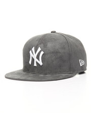 NBA, MLB, NFL Gear - 9Fifty Yankees Storm Grey Suede Snapback