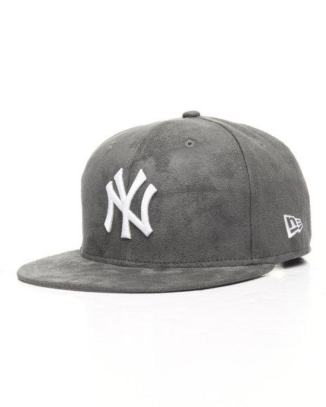 New Era - 9Fifty Yankees Storm Grey Suede Snapback