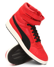 Puma - Sky II Hi Color Blocked Leather Sneakers