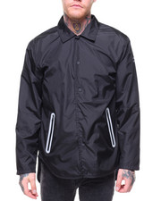 Elbow Grease - Long Nylon Coaches Jacket