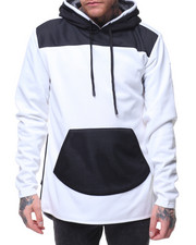 Elbowgrease - Mesh Overlay Tech Fleece Hoodie-2145036