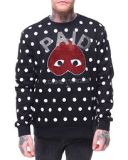 Hudson NYC - PAID DOT CREWNECK SWEATSHIRT
