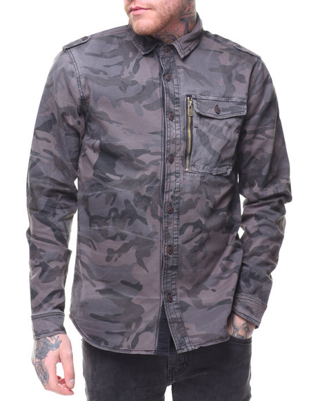 Jordan Craig - L/S Denim Shirt