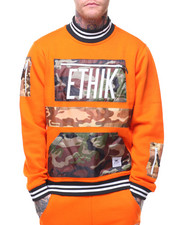ETHIK CLOTHING CO - Militant Fleece Track Top