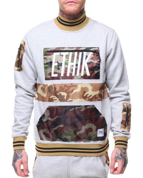 ETHIK CLOTHING CO - Militant Fleece Track Top